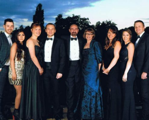 Bright Selection team at the Stepping Stones summer ball