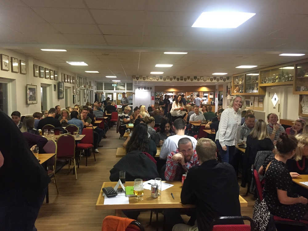 Bright Selection's Curry & Quiz night for Stepping Stones and St Helena Hospice